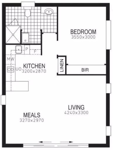 Granny Flat Floorplan Renewvation