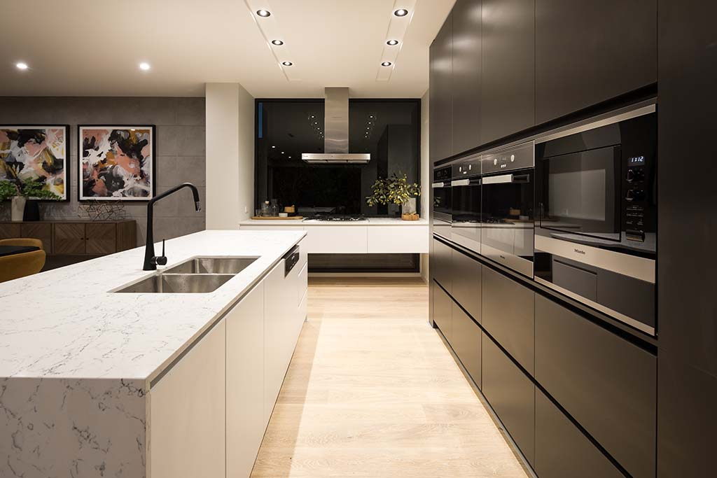 Sleek kitchen renovation