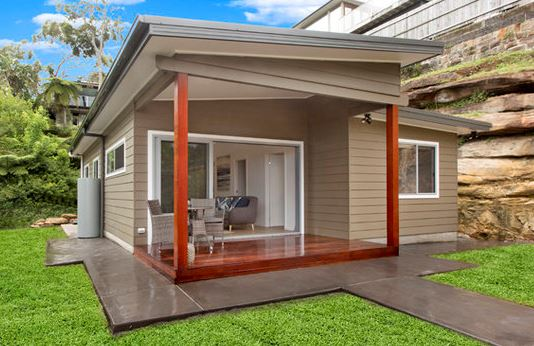 backyard granny flat extension