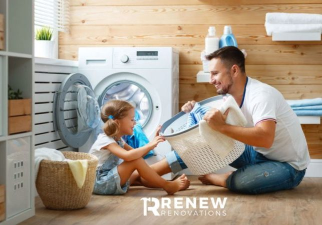 Laundry Renovation by Renew Renovations